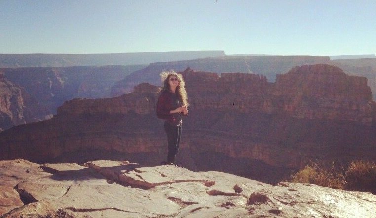 Two bucketlist items completed that day: visit the Grand Canyon AND ride on a helicopter!